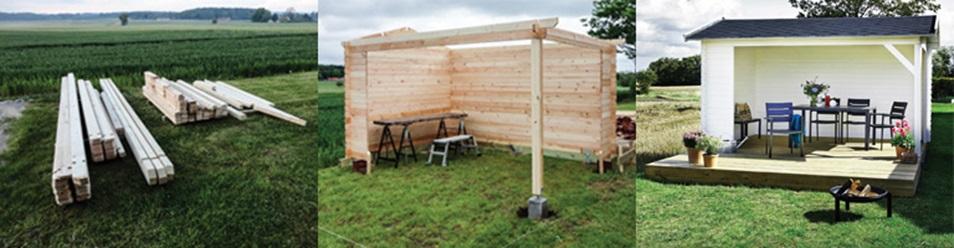 Terrasse shelter