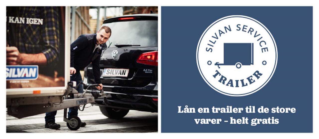 Opdateret Lån en trailer hos SILVAN IL85